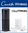 Caséta® Wireless Smart Home Lighting Control System by Lutron Now Works with Amazon Alexa