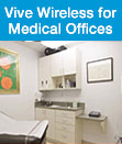 Vive Wireless Lighting Control for Medical Offices