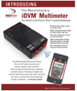 iDVM – The World's First iPhone, iPad, and iPod touch Enabled Digital Multimeter & Data Logger!