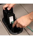 Red•Dot® Deck Grommet™ Pro Floor Box