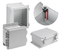 Testing the Mettle of Metalic and Non-Metallic PLC Enclosures