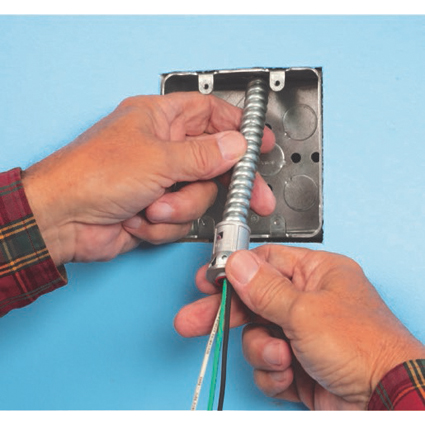 SNAP2IT® MC Cable Connectors Save time!