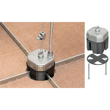 STEEL T-BOX for suspended ceiling grids