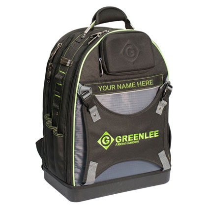 Greenlee® Professional Tool Backpack