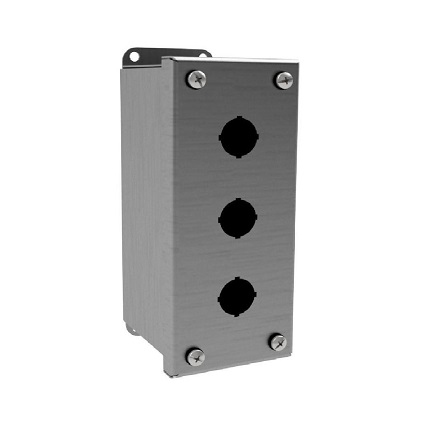 NEW Wiegmann Stainless Steel Pushbutton Enclosures