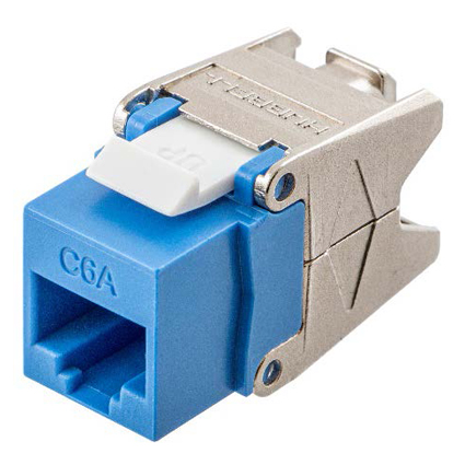 New Category 6A Jacks and Plugs with Cobra-Lock™ Termination from Hubbell Reduce Downtime and Increase Installer Productivity