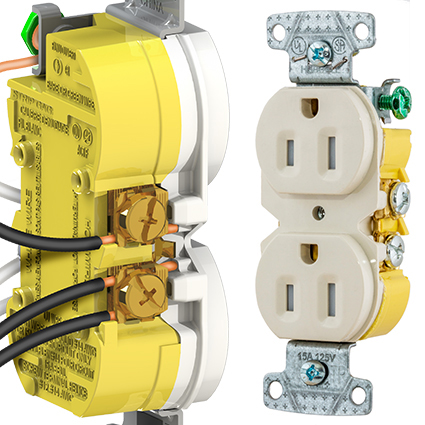 selected electrical product xclamp tamper resistant receptacle from rh electricsmarts com hubbell wiring devices catalog hubbell wiring devices catalog