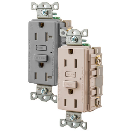 Hubbell Wiring Device-Kellems' HUBBELLPRO Ground Fault Receptacles Combine Aesthetics and Safety