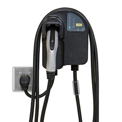 Hubbell's Electric Vehicle Charging Station Offers Fast, Efficient Charging