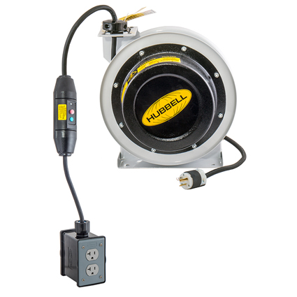 Hubbell Offers First cUL-Compliant Cord Reel