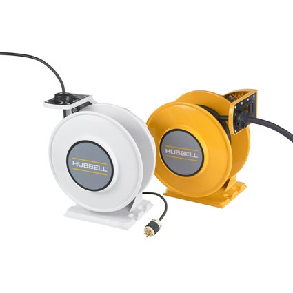 Hubbell's New inREACH™ Cord Reels Improve Safety & Reduce Labor Costs
