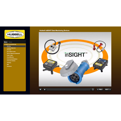 New eLearning Course from Hubbell Wiring Device-Kellems Offers Education on Data Monitoring