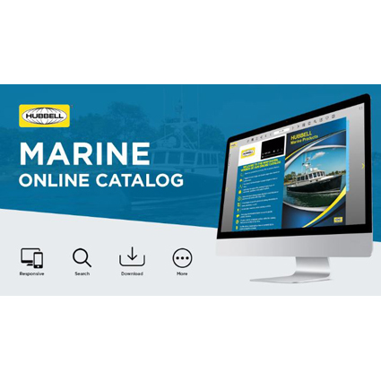 New Online Marine Products Catalog from Hubbell Wiring Device- Kellems Brings Helpful Features to Life