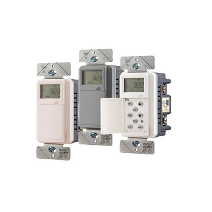 New Programmable Wall Switch Timer from Hubbell Wiring Device- Kellems Simplifies Lighting Load Control