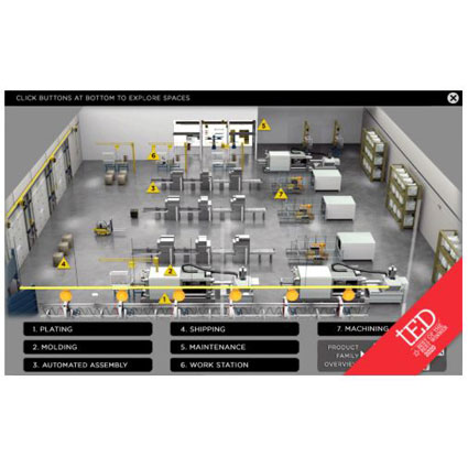 Hubbell Safety eTour Offers Virtual Exploration of Industrial Setting