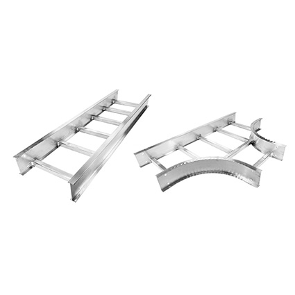 Hubbell's New Aluminum Ladder Tray System