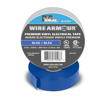 IDEAL Electrical Launches Wire Armour™: Premium Professional Electrical Tape