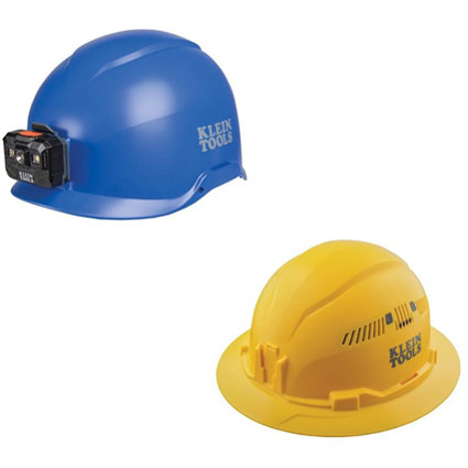 Klein Tools' New Protective Headgear