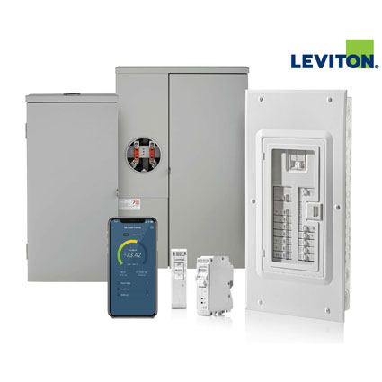 The Leviton Smart Load Center