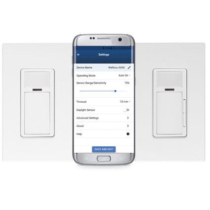 Leviton Smart Wallbox Sensors