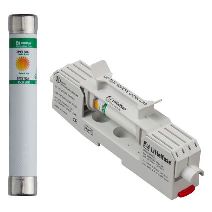 Littelfuse Launches 1500 Volt Solar String Fuse and Holder Rated 35 to 60 Amperage