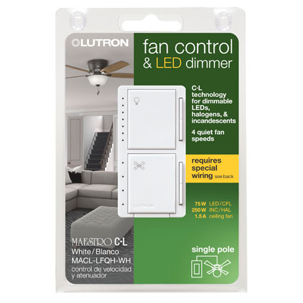 Now Shipping! New Maestro Fan Control and C•L Dimmer