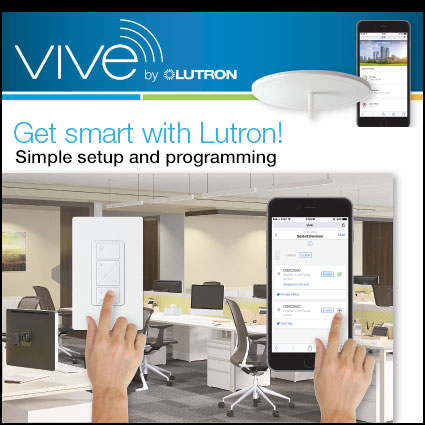 Get Smart! VIVE simple, scalable, wireless lighting control