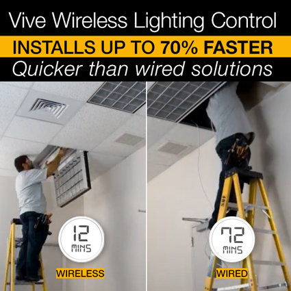 NEW! Lutron Vive Wireless Lighting Controls vs. Wired Controls