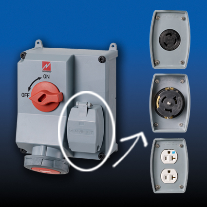 Mechanically Interlocked Receptacles from MENNEKES®