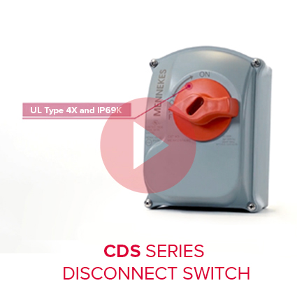 CDS Sloped-Top Non-Metallic Disconnects