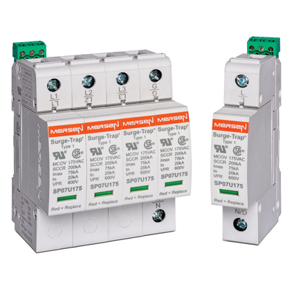 Mersen's New and Improved STP Series – Featuring a 75kA Surge Rating
