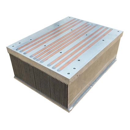 Mersen Embedded Heat Pipe Air Cooled Heat Sinks