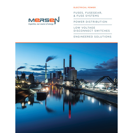 Mersen's Electrical Power Catalog