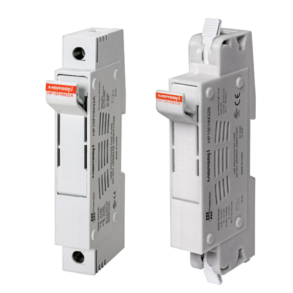 Mersen's New 1500VDC Photovoltaic Fuse Holders