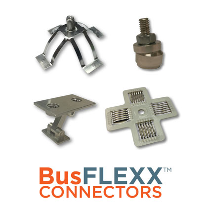 Mersen BusFLEXX™ Flexible and Conforming Bus Bar Connectors