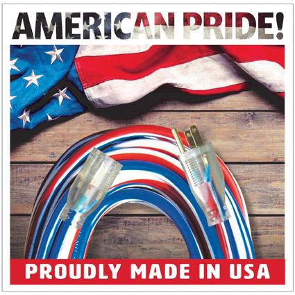 USA Made Superflex Extension Cords