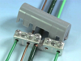 IGB-WM Intersystem Grounding and Bonding Bridge for Wall Mount