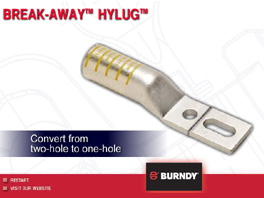 BURNDY® BREAK-AWAY™ HYLUG™