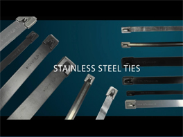 BURNDY® 304 & 316 Stainless Steel Cable Ties