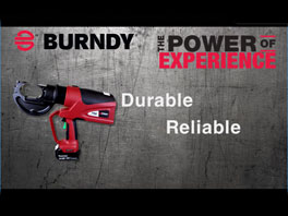 BURNDY PATRIOT PAT750 Series Battery Actuated Crimping Tool