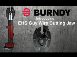 BURNDY® EHS Guy Wire Cutting Jaw