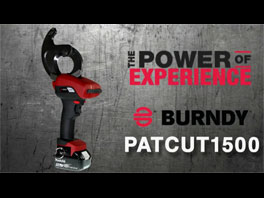 BURNDY® PATRIOT® PATCUT1500 Cable Cutter