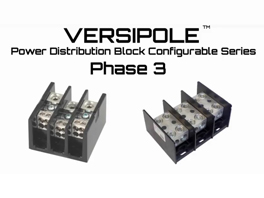BURNDY® Versipole Power Distribution Block Phase 3