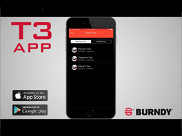 BURNDY T3 APP Features and Benefits