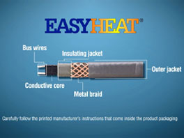 EasyHeat Self-Regulating Cable