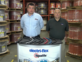 Zero-Halogen Flexible Electrical Conduit by Electri-Flex Company
