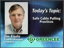 Safe Cable Pulling Practices
