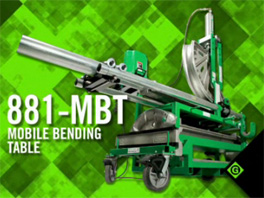 881-MBT Mobile Bending Table