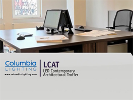 Hubbell Lighting: Hubbell Lighting LCAT LED Contemporary Architectural Troffer