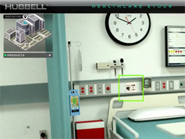 Hubbell 360-Degree Interactive Healthcare eTour